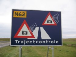 Hier is het begin van een trajectcontrole